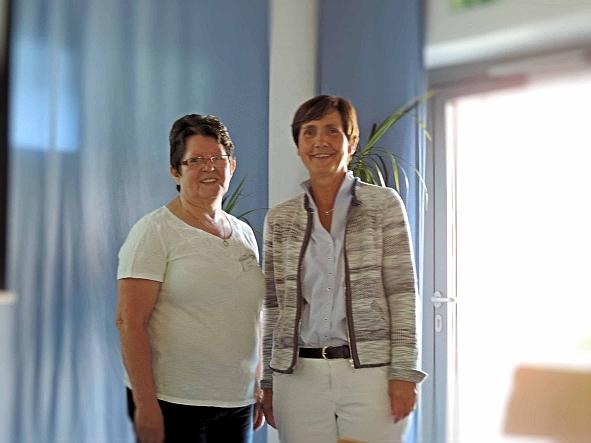 Begrüßung, Koordinatorin E. Dietzel und Referentin U. Haarhoff