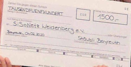 Stubai-Spende Banknoten